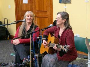 Two Cat Folk, Daisy & Kathleen and Betsi | Betsi Mandrioli